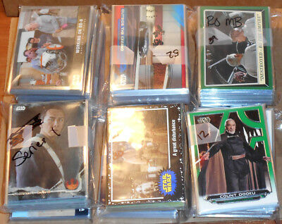 STAR WARS PARALLEL & INSERT CARD LOT (501 Cards Total) Force Awakens,Rogue One++