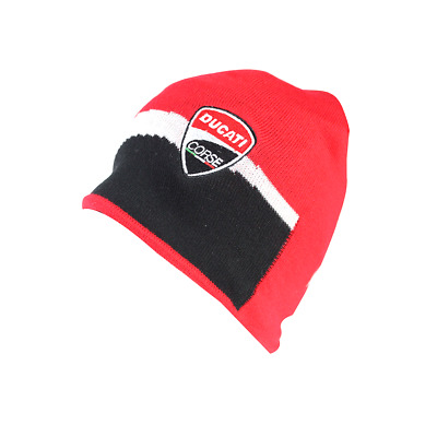 Official Ducati Corse Racing beanie cap hat