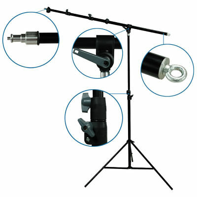 Lusana Studio Photography Hair Light Boom Arm Stand Lighting Studio Easy Set Up