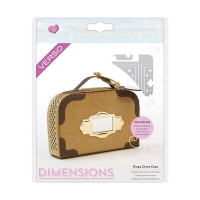 Tonic Stanzschablone: Kings Cross Case Die Set – 765e