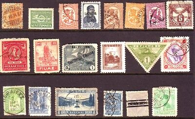 Old World * Local Postage Bob == 20  ==  Foreign  Used&mint Unsorted
