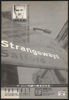 1987 The Smiths Strangeways Here We Come JAPAN album promo ad /print advert s11r