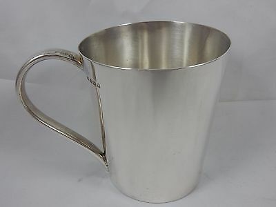 QUALITY,  silver CHRISTENING MUG, 1925, 220gm