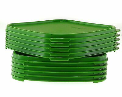 Tupperware 5X Square Replacement Seal for Modular Mates I,II,III,IV Green Lids
