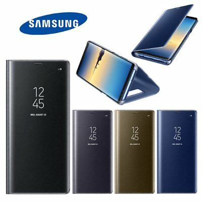 USA Original Samsung Galaxy Note 8 Clear S View Standing Cover Genuine Flip Case
