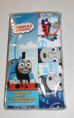 Thomas the Tank Engine Train 7 Cotton Underwear Briefs Boys Size Toddler 4T  NIP