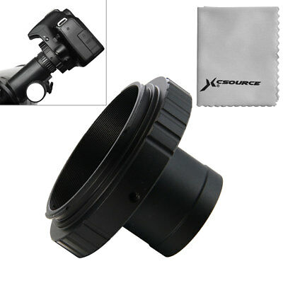 Lens Adapter T-Ring for Canon EOS Camera + 1.25in / 31.7mm Telescope Mount DC615