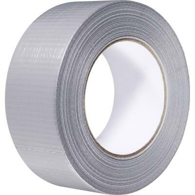 48 X Strong Adhesive Silver Gaffer Cloth Tape 50mm x 45m