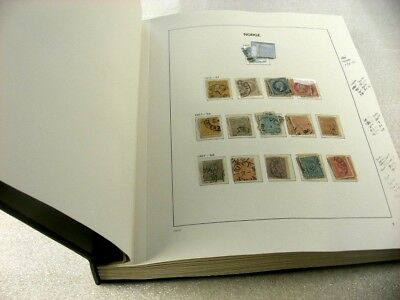 NORWAY, Fabulous Stamp Collection/Accumulation in a DAVO hingeless album
