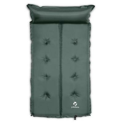 Sleeping Mattress Double Air Bed 3 Cm Thick Pillow Hiking Camping Tent Guest Bed