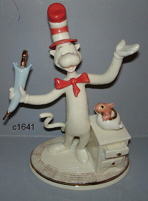 Lenox GRINCH THE CAT IN THE HAT DR SUESS - New in Box