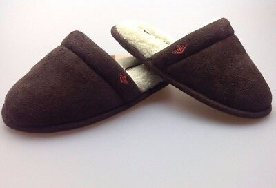 Dockers Kids Boys House Slippers Suede Clogs Brown • $27.99 - PicClick