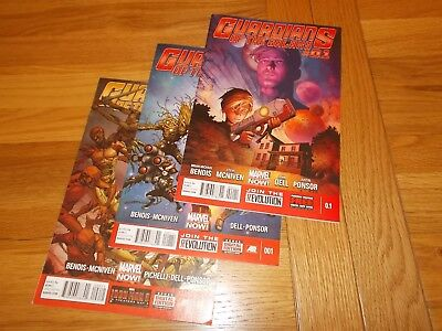 Marvel Comics X-men Guardians Of The Galaxy 0.1, 1 ,2 .