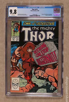 Thor (1962-1996 1st Series Journey Into Mystery) #411 CGC 9.8 1448925040