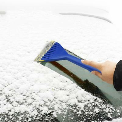 13in Auto Car Vehicle Snow Ice Shovel Scrapers Removal Clean Tool Gold Dulcet
