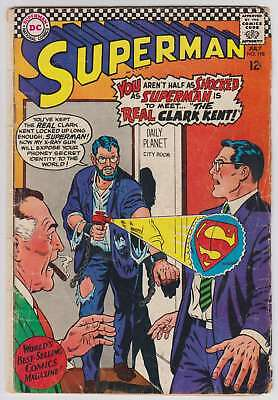 L4657: Superman #198, Vol 1, G+/VG Condition