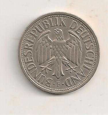 1951F 2 Mark Coin From Germany