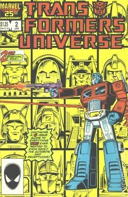 Transformers Universe (1986) #2 FN