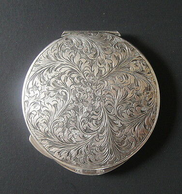 Old or  Antique  800 Sterling Silver Lady's Compact