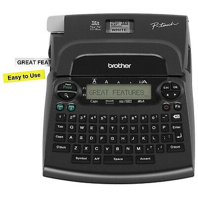 New Brother P-Touch Label Machine Deluxe Home & Office Labeler