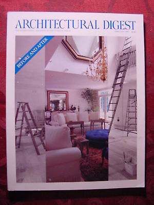 ARCHITECTURAL DIGEST February 1993 BEFORE and AFTER +++