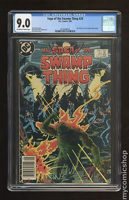Swamp Thing (1982 2nd Series) #20 CGC 9.0 0302046010