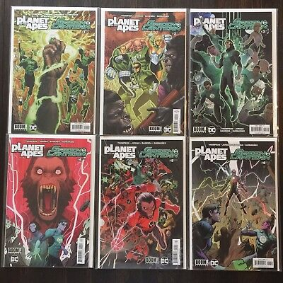 Planet of the Apes/Green Lantern #1 to 6 NM Complete Mini Series DC Comics Boom!