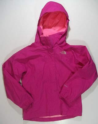 THE NORTH FACE HYVENT fuchsia pink windbreaker mesh lined JACKET girls 7 8