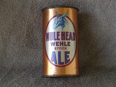 Flat Top Mule Head Wehle Stock Ale With How To Open Panel On Back Of Can