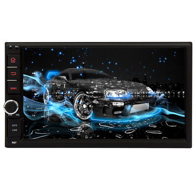 RAM 2GB Android In Dash 2Din Car DVD Radio Stereo GPS Player DSP PIP WiFi 3G USB