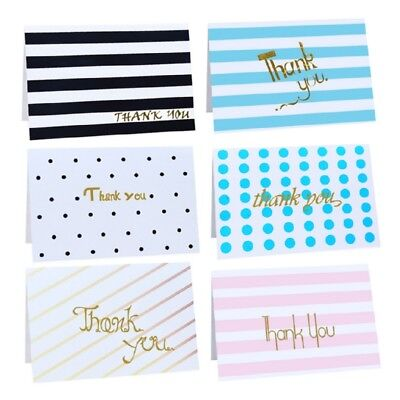 Thank you Paper Cards Blessing Greeting Message Christmas Birthday Card