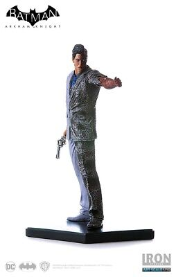 Other Statues--Batman Arkham Knight - Two Face 1:10 Statue