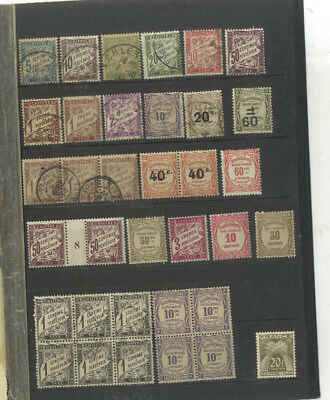 Lot 35 Timbres Taxe  France