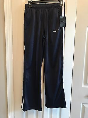 Youth Boys NIKE Athletic Pants Size L Navy Blue NWT