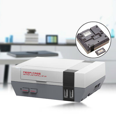 Mini Nes Retroflag Nespi Case Designed For Raspberry Pi 3, 2and B+ Game DIY& fan