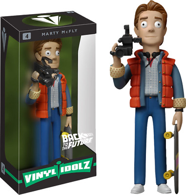 Funko--Back to the Future - Marty McFly Vinyl Idolz