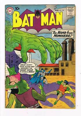 Batman # 130 Batman's Deadly Birthday ! grade 5.0 scarce book !!