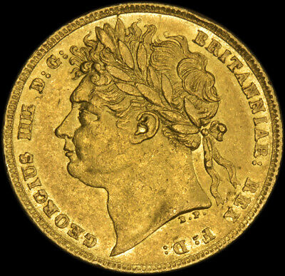 Excellence King George The Iiii 1822 Gold Sovereign