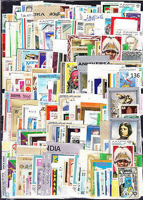 / 200 Stamps - Mnh - Art - Painting - Olympic - Animals