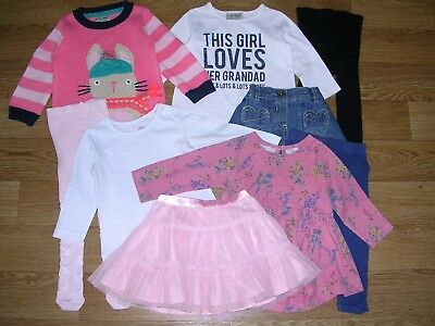 Mainly NEXT Girls Bundle Outfits Tops Leggings Skirts Tights Dress Age 6-9m