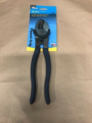 Ideal Wireman 9 1/2In Cable Cutter Dipped Grip 35-052 Usa Brand New 783250350520