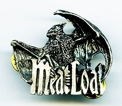 Meatloaf 1994 Bat Out of Hell Original Die Cast Poker Tour Lapel Pin