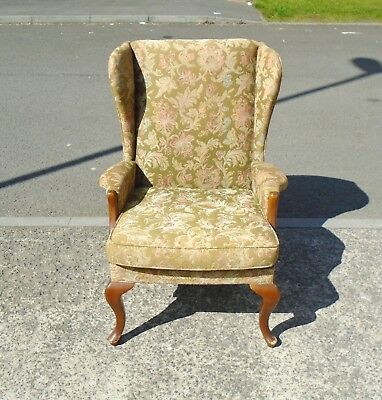Vintage Parker Knoll Pk918 Wing Back Armchair    Delivery Available