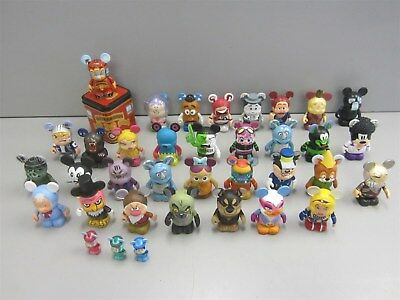 Lot Disney Vinylmation w/ Lion King, Snow White, Toy Story+++