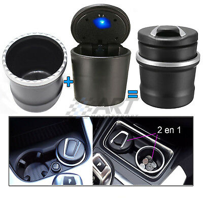 Cenicero porta monedas led para Bmw X5 E70 X6 E71 ashtray portacenere cendrier