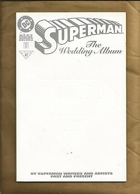 Superman the Wedding Album 1 nm 1996 John Byrne Curt Swan and others DC comics