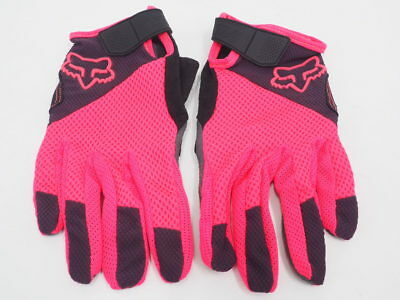 New! Fox Racing Women's Gel Full Finger MTB Cycling Gloves Size Small