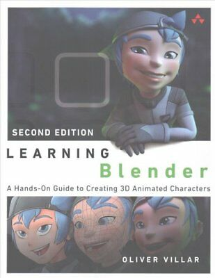 Learning Blender A Hands-On Guide to Creating 3D Animated Chara... 9780134663463