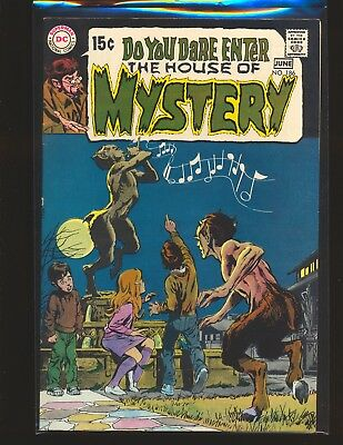 House of Mystery # 186 - Neal Adams cover & Wrightson art VF Cond.