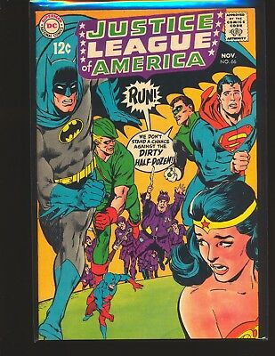 Justice League of America # 66 - Neal Adams cover VF Cond.